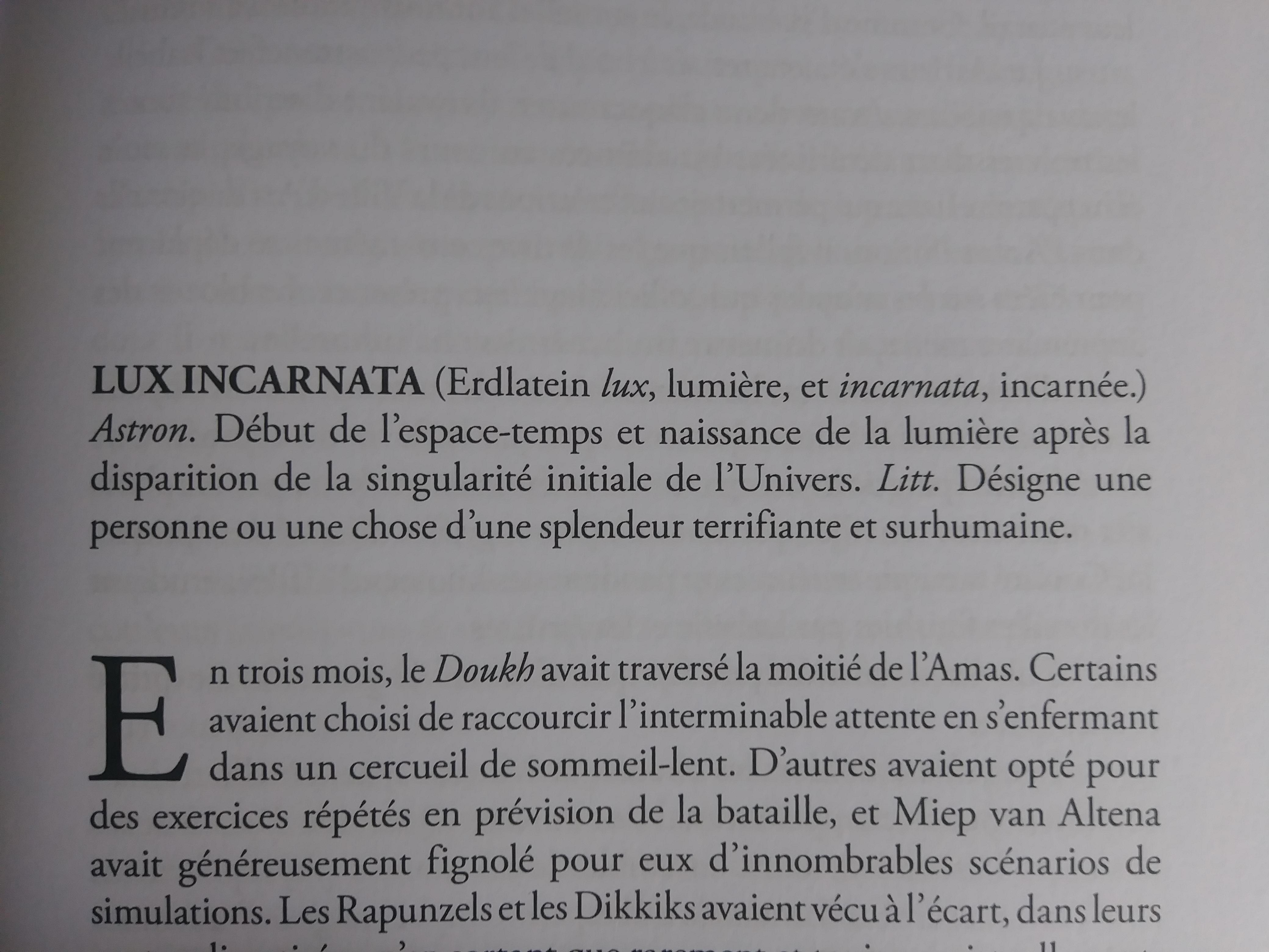 McALLISTER, Laurent, Suprématie, Paris, Bragelonne, 2009, p. 115.