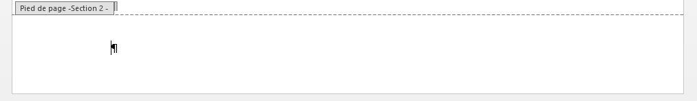 """Pied de page délié, article """"Didacticiel Microsoft Word: Petit guide pour utiliser les sauts de page"""""""