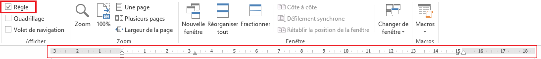 Utiliser la tabulation dans Microsoft Word