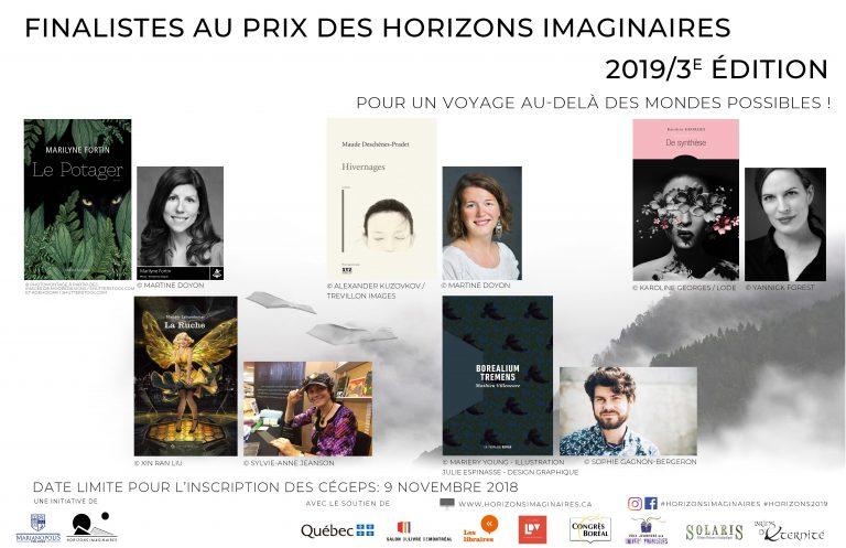 Prix des Horizons imaginaires 2019