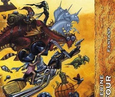 DUFOUR, Catherine, L'immortalité moins six minutes, Aix-en-Provence, Nestivequen, coll. «Fractales Fantasy», 2007, 256 p. Avis lecture sur lilitherature.com