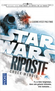 WENDIG, Chuck, Riposte (Star Wars: Aftermath, 1), Paris, Pocket, 2016 [2015], 480 p. Avis lecture au https://lilitherature.com/2018/10/25/star-wars-aftermath/.