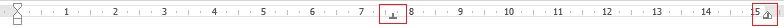 Taquets standards des en-têtes et pieds de page - Des didacticiels Microsoft Word sur lilitherature.com.