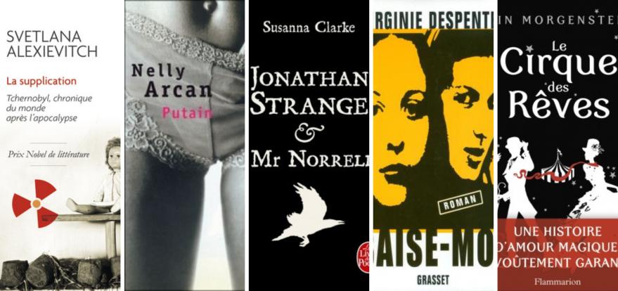 Recommandation lecture : quelques livres écrits par des femmes