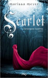 MEYER, Marissa, Scarlet (Les chroniques lunaires, 2), Paris, Pocket Jeunesse, 2013, 480 p. Avis lecture sur lilitherature.com.