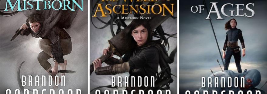La trilogie de fantasy épique Mistborn de Brandon Sanderson