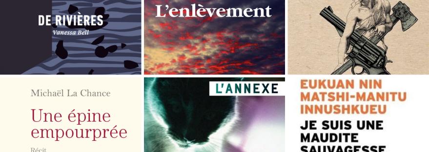 Featured Image Rentrée littéraire québécoise Automne 2019