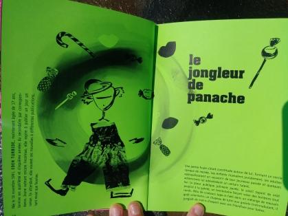 Couverture de la nouvelle Le jongleur de Panache Katapulpe no 8